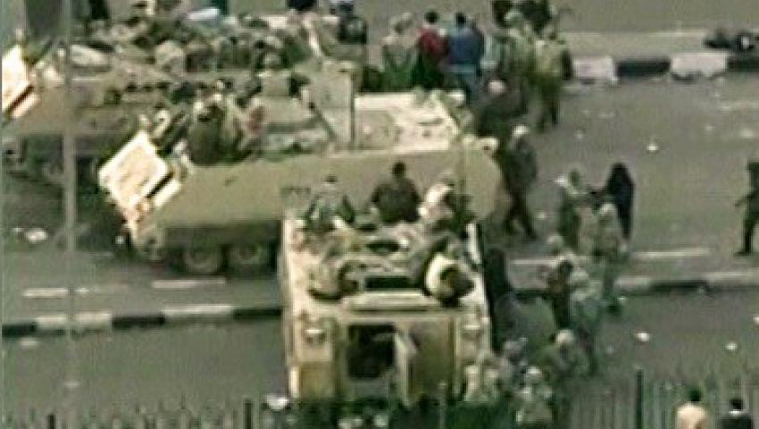 مدرعات الجيش تفصل بين المشتبكين أعلى أكتوبر