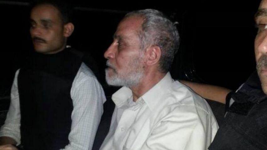 فيديو..لحظة القبض على محمد بديع مرشد الإخوان