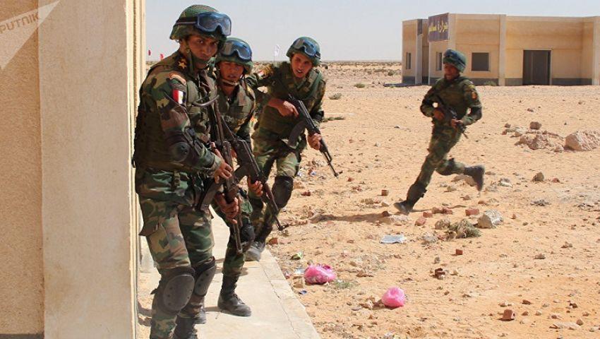 بالفيديو| القوات المسلحة: القضاء على 47 تكفيريًا واستشهاد ضابطين و3 جنود بسيناء