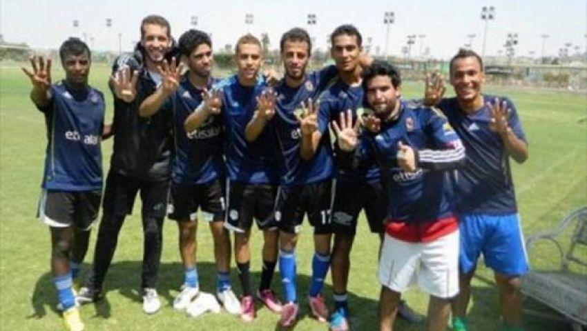 التحقيق مع لاعبي فريق شباب بالأهلي بسبب شارة رابعة