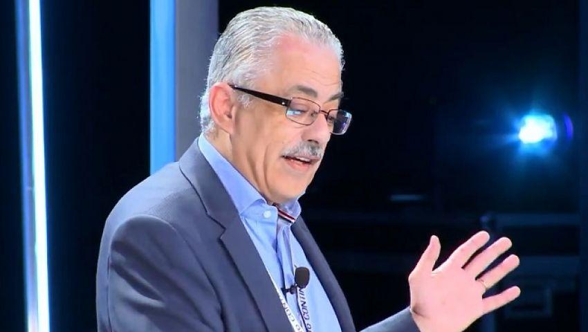 طارق شوقي: نظام التعليم الجديد ليس تابلت وسلكا