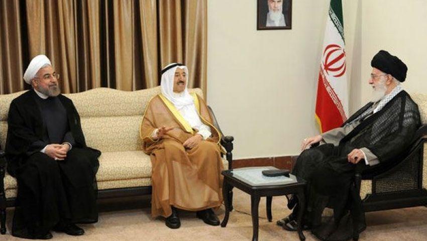 أمير الكويت يلتقي خامنئي في إيران