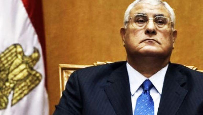 منصور: مصر ستظل على هويتها الإسلامية