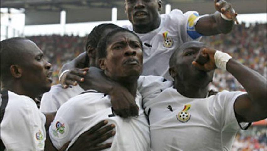 جيان يقود هجوم غانا أمام الفراعنة..وبواتينج احتياطيا
