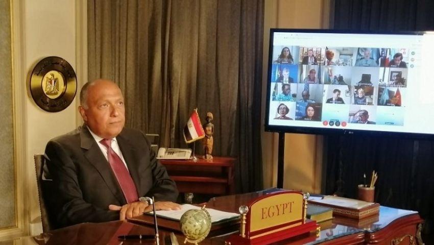 سامح شكري: ملء السد سيكون له تبعات مهولة.. ولجوؤنا لمجلس الأمن لتجنب التصعيد