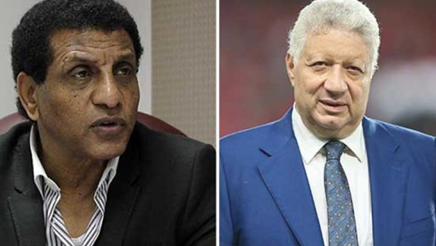 مرتضى منصور يعلن تعيين فاروق جعفر مستشارا فنيا لمجلس الزمالك