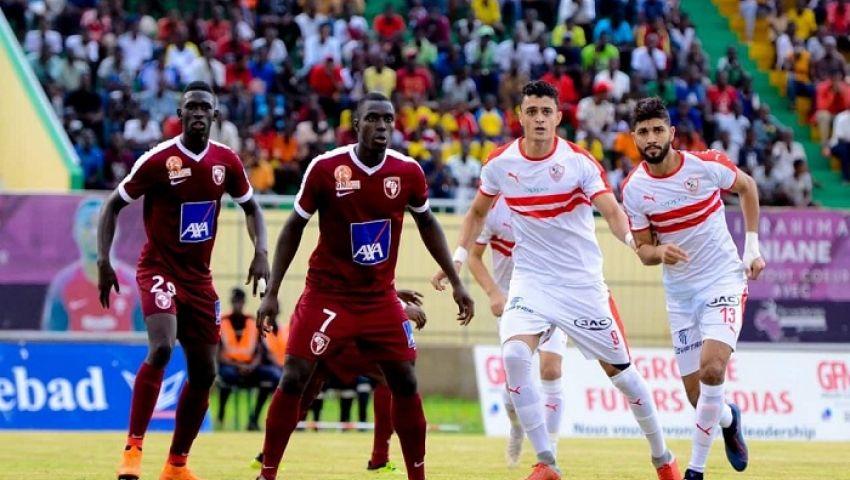 بث مباشر.. الزمالك vs جينيراسيون فوت السنغالي بدوري أبطال أفريقيا