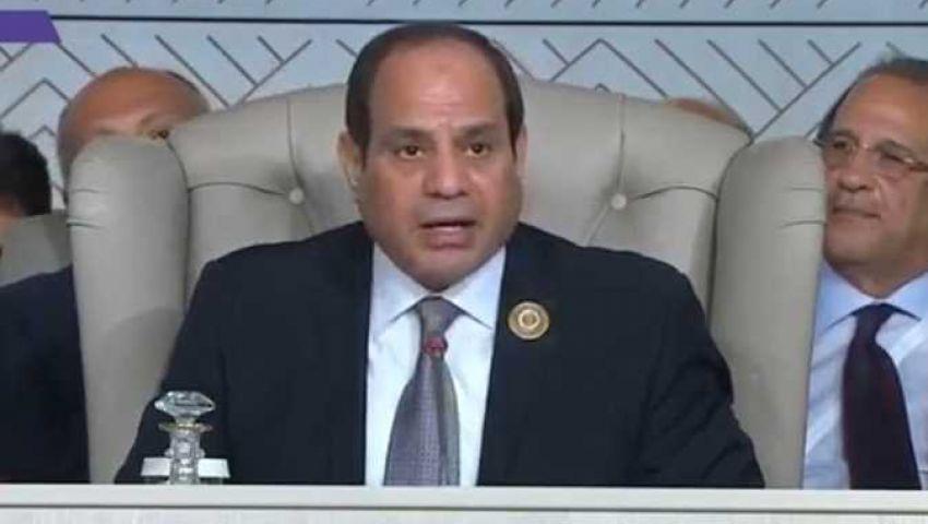 السيسي: حل أزمة  الخرطوم في أيدي السودانين