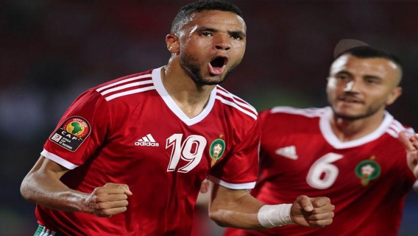 النصيري يقود هجوم المغرب أمام بنين