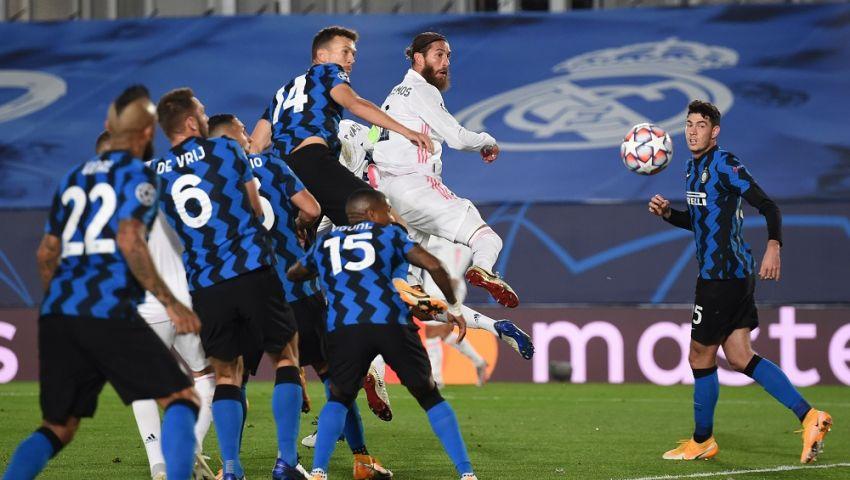 الخوف من وداع «الأبطال» يشعل مواجهة ريال مدريد وإنتر ميلان