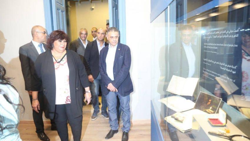 صور| قبل افتتاحه في 30 يونيو.. جولة بمتحف نجيب محفوظ