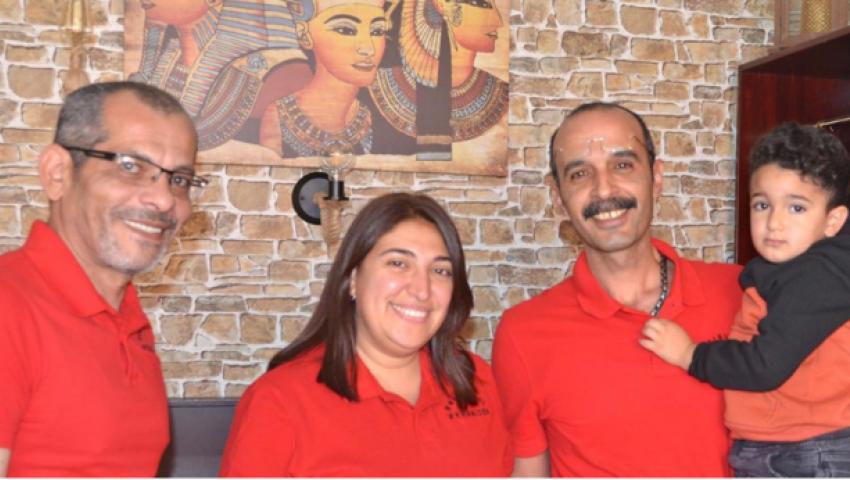 «الأهرامات».. أول مطعم  مصري في مدينة ألمانية