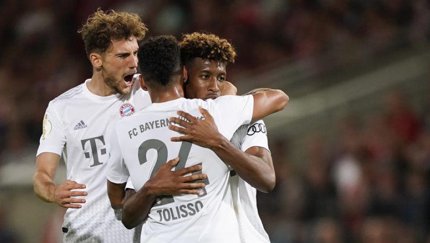 فيديو| بايرن ميونخ يتأهل للدور الثاني من بطولة كأس ألمانيا