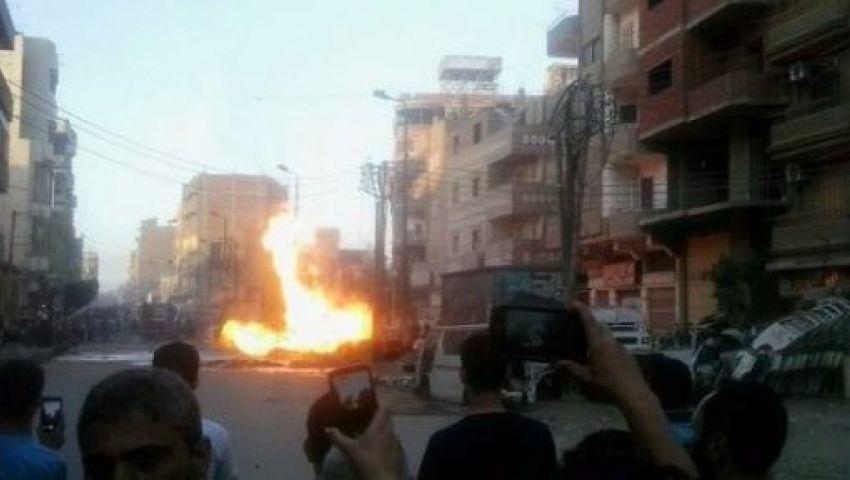 انفجار بمنطقة «بهتيم» بشبرا الخيمة دون وقوع خسائر بشرية