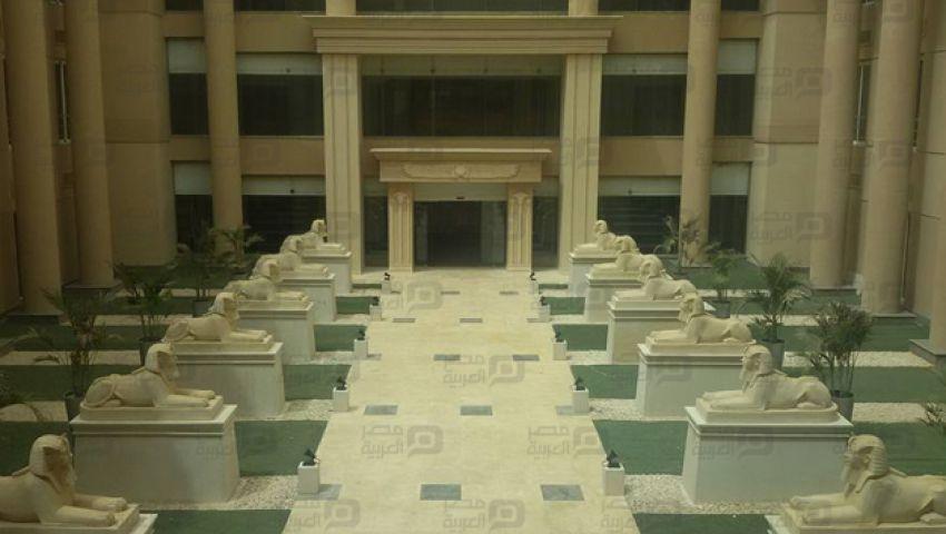 بالصور | مكتب النائب العام الجديد.. معبد فرعوني بـ 300 مليون جنيه