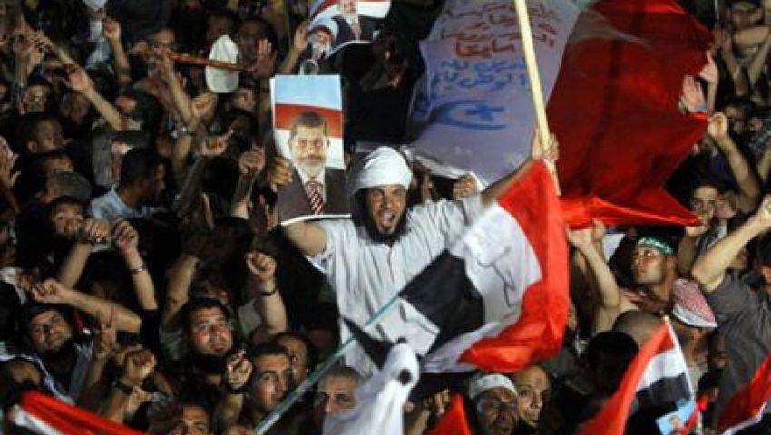 مسيرات واعتصامات مؤيدة تأييدا لخطاب مرسي