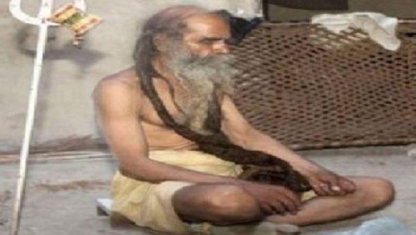 هندي يمتنع عن الاستحمام 37 سنة