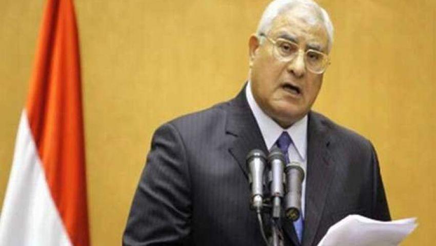 منصور يرأس اجتماع مجلس الدفاع الوطني