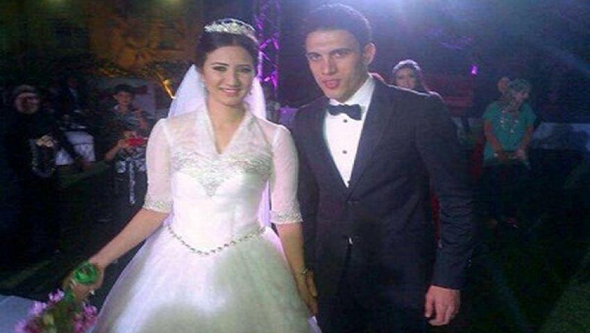 جدو يحتفل بزواجه من شقيقة زوجة سيد عبد الحفيظ