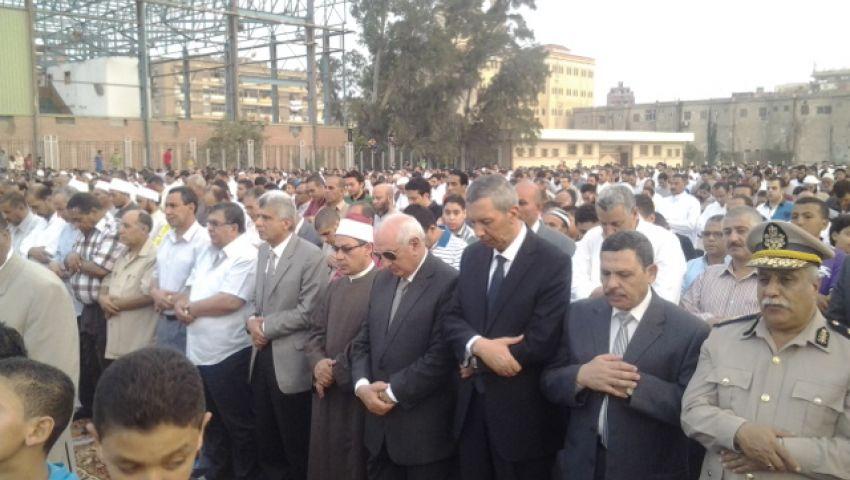 صلاة العيد فى كفرالشيخ وسط حراسة مشددة واغلاق للشوارع المؤدية للصلاة