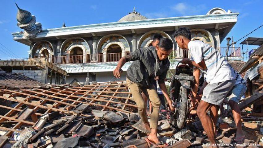 بعد ساعات من وقوع آخر.. زلزال يضرب المنطقة الشرقية بإندونيسيا بقوة 7.3 ريختر