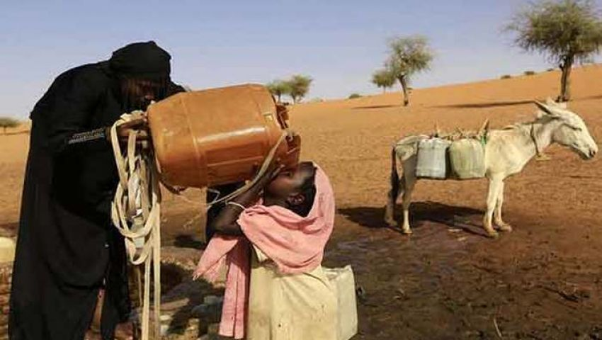نقص المياه..  الأطفال أول الضحايا «إنفوجراف»