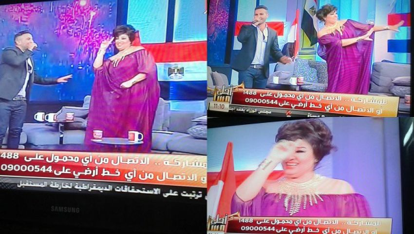 وصلة رقص لفيفي عبده على بشرة خير
