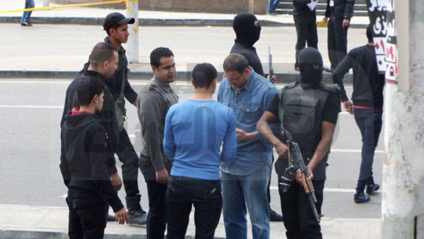 الأمن يمشط جامعة الأزهر وينفى وجود متفجرات