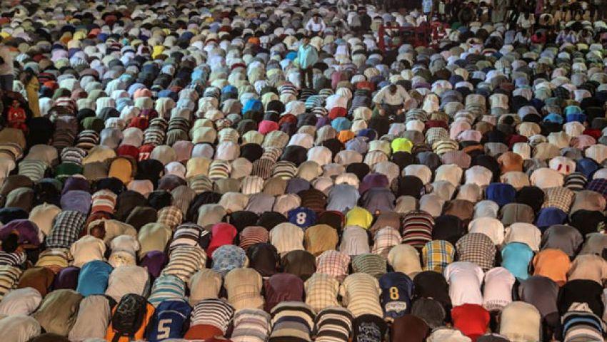أجواء رمضانية كاملة باعتصام رابعة العدوية