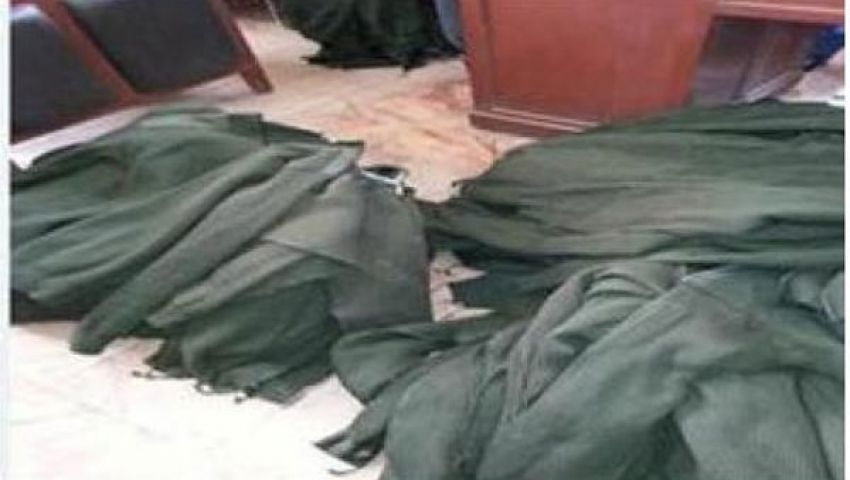 أمن المنوفية: ورشة ملابس الأمن المركزي بأشمون مرخصة