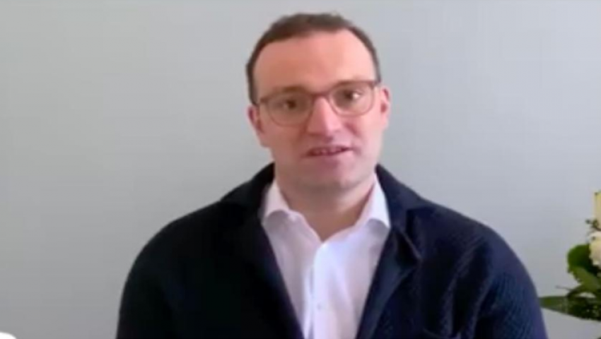 فيديو  وزير الصحة الألماني: الوباء ينتشر.. لا تنصتوا لمنكري كورونا