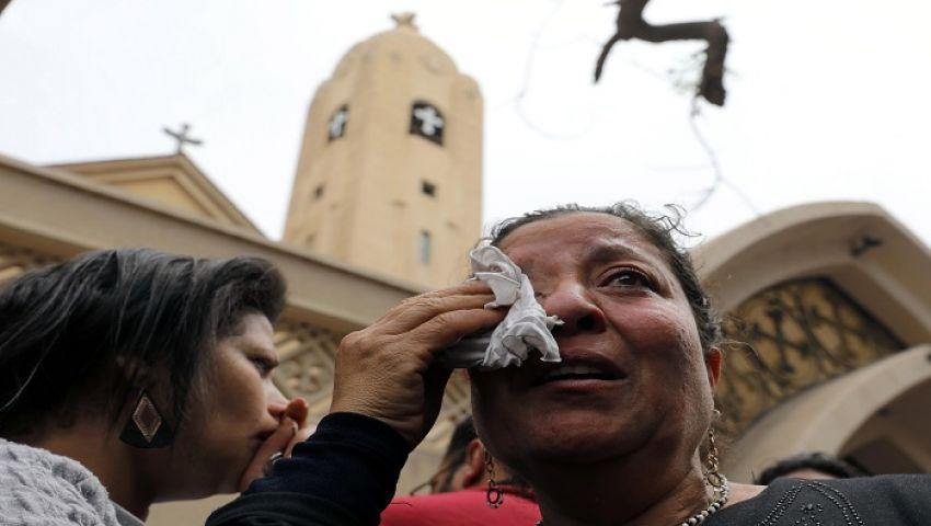 بالفيديو| تفجيرات كنائس طنطا والإسكندرية.. دماء في «بيوت الرب»