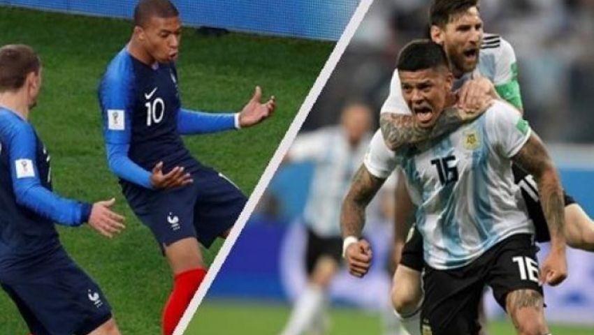 رغم خروج «التانجو».. رواد «تويتر»: مباراة فرنسا والأرجنتين بداية كأس العالم
