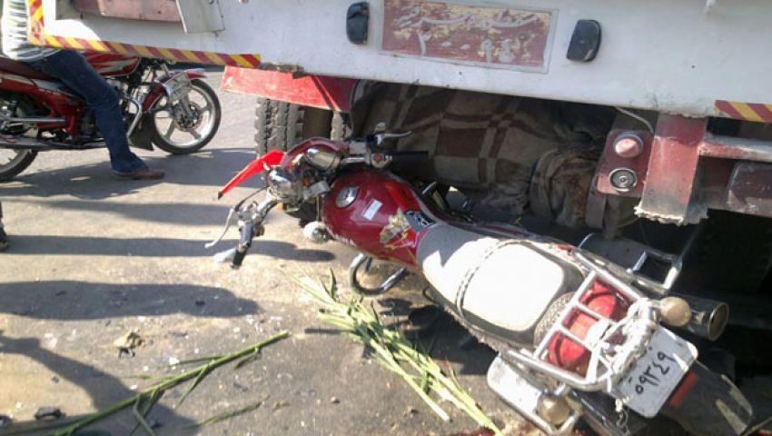 يدهس ابن عمه في حادث تصادم بالمنوفية