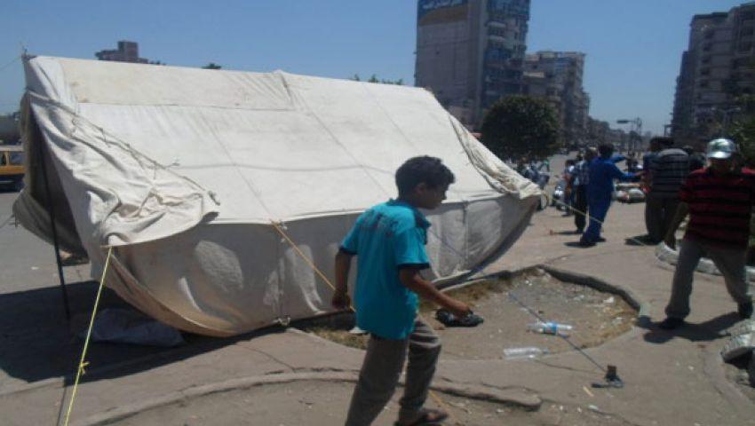 مسيرات للقوى الثورية بالغربية تطالب برحيل مرسي