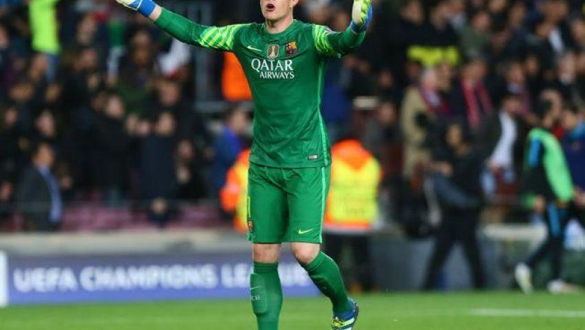 برشلونة يخطط لتمديد عقد تيرشتيجن