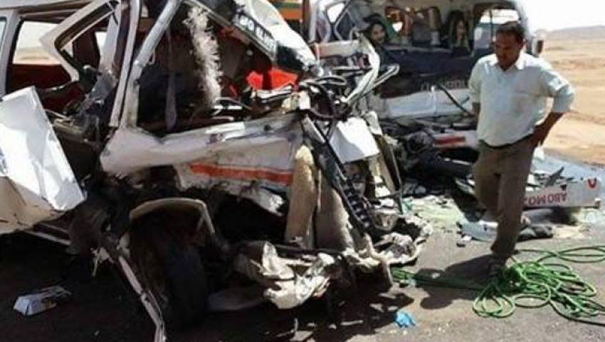 بينهم طفلان| بالأسماء.. مصرع 4 وإصابة 11 في حادث أسيوط