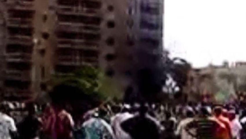 إصابة 4 فى انفجار المخابرات الحربية بالإسماعيلية