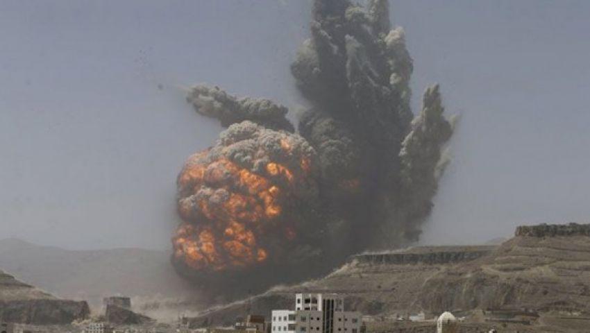 انفجارات عنيفة تهز جبل عطان جنوب صنعاء