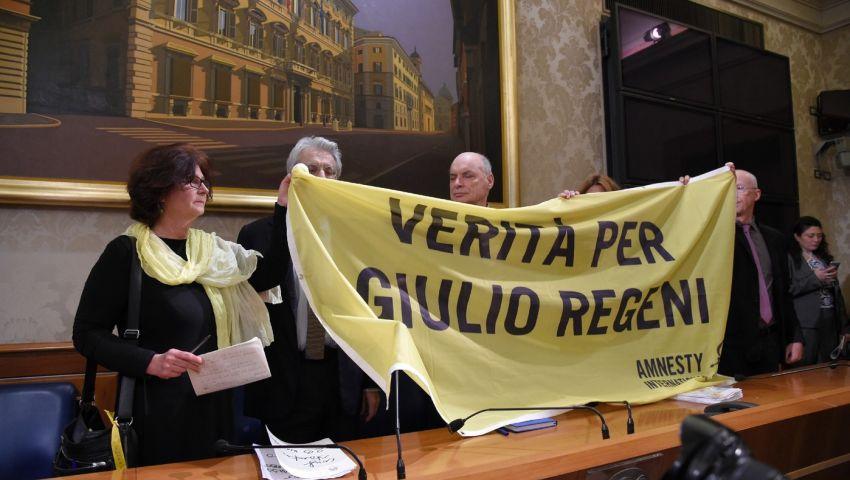 مسؤولة إيطالية: يجب على أوروبا البحث عن قتلة ريجيني