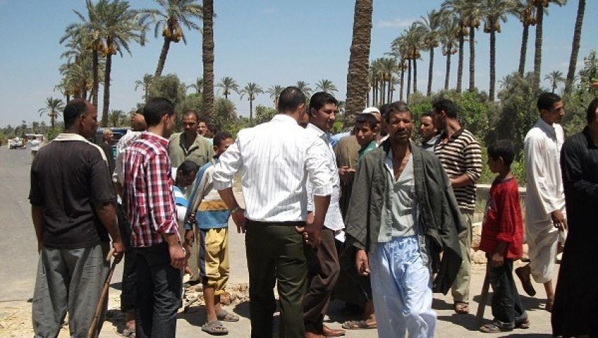 أهالي 5 قرى يقطعون طريق الغرق - إطسا
