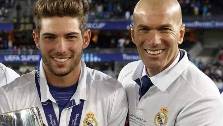 رسميًا.. نجل زيدان يرحل عن ريال مدريد