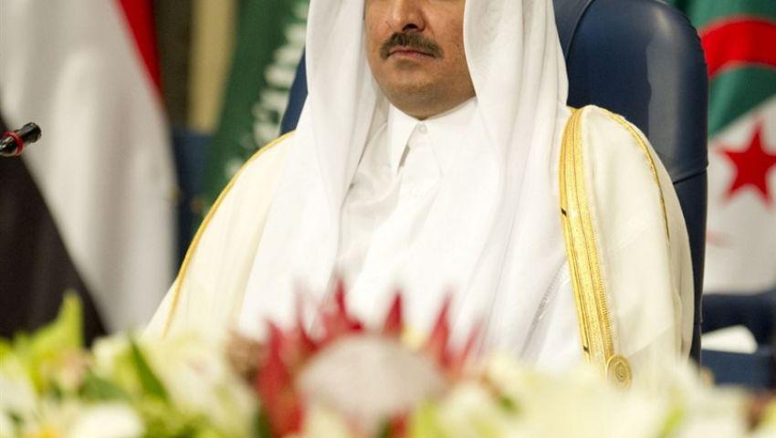 أمير قطر يؤكد للسراج دعم بلاده لحكومة الوفاق الليبية
