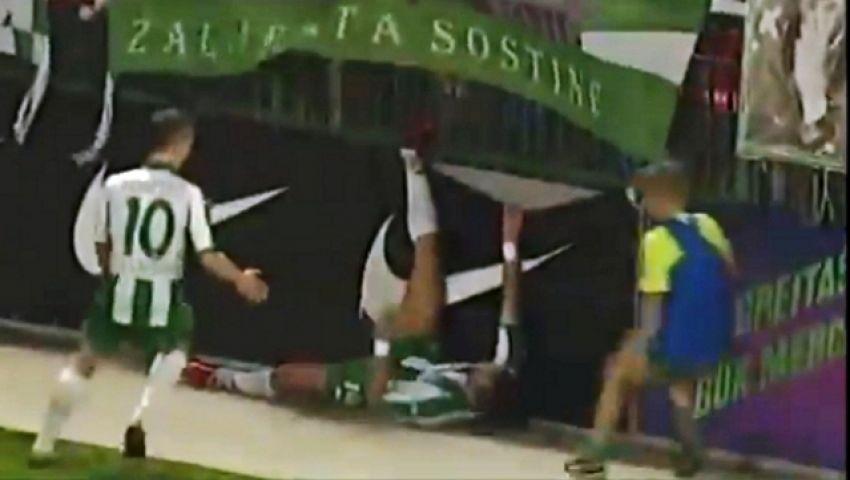 فيديو..احتفال مؤلم يفسد فرحة هدف بالدوري البولندي