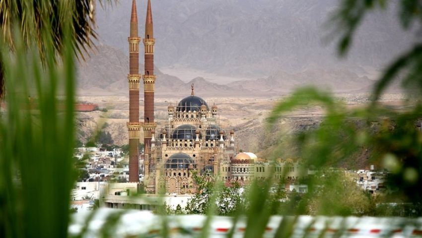 بتكلفة 28 مليونًا.. الأوقاف تفتتح مسجد الصحابة بشرم الشيخ