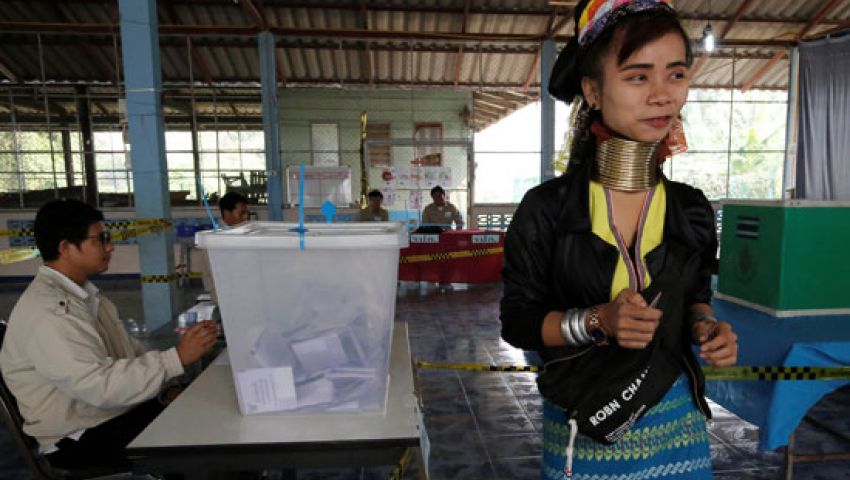 بدء التصويت في أول انتخابات عامة بـ تايلاند منذ أحداث 2014