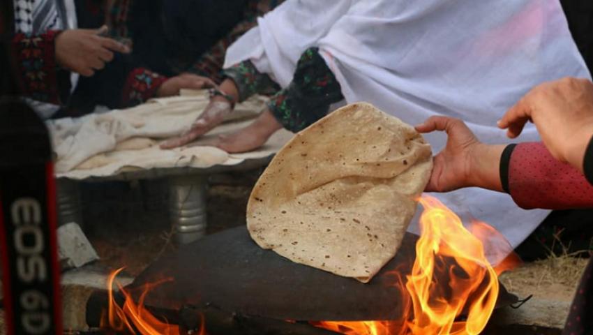 «خبز الصاج».. عادةفلسطينية في عيد الأضحى