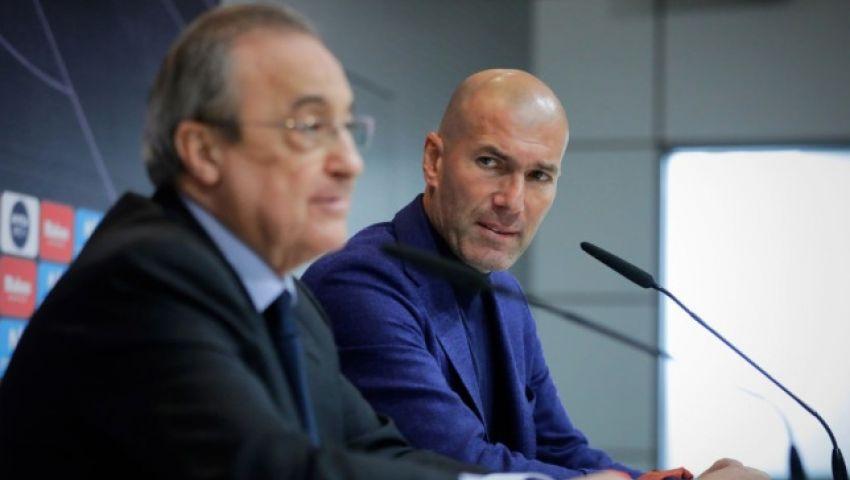 «الموندو» الإسبانية: بيريز يتجه لإقالة زيدان.. وتوضح البديل لخلافته