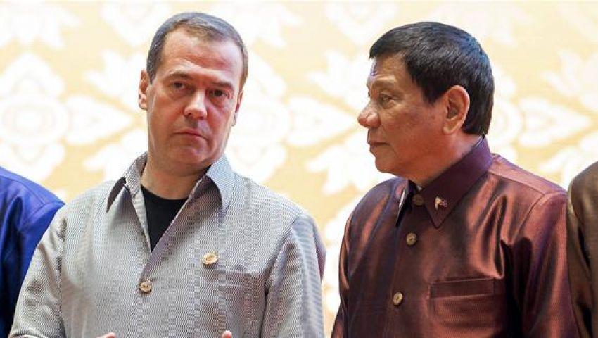رئيس الفلبين: روسيا والصين يعترفان بـ وقاحة أمريكا