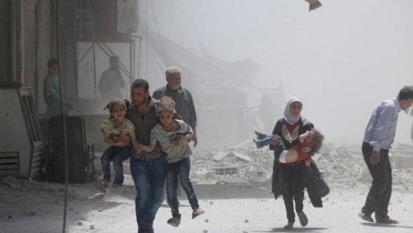 رغم إعلان موسكو للهدنة.. قتلى في غارات روسية على إدلب